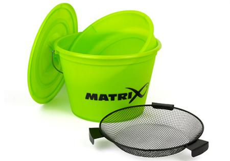 Matrix Lime Bucket Set (inc tray & riddle)