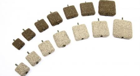 Nash In-Line Flat Square Lead Gravel / Clay