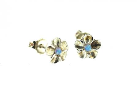 Yaron Morhaim Handmade Earrings (opal stud1)