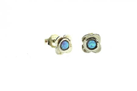Yaron Morhaim Handmade Earrings (opal stud2)