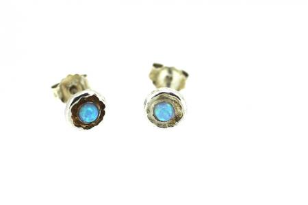 Yaron Morhaim Handmade Earrings (opal stud4)
