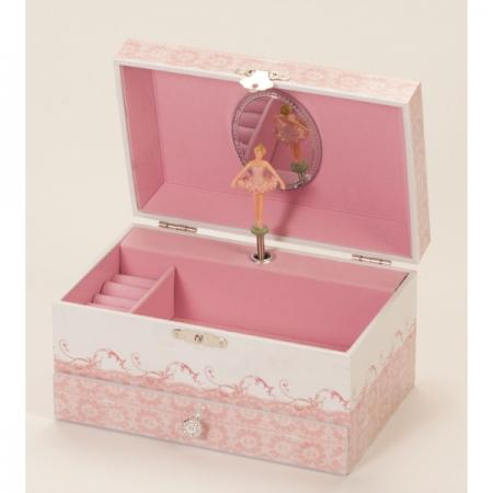 Ballerina Musical Jewellery Box (dulcie 1325)