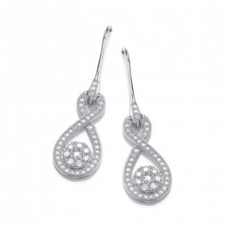 Figure of Eight Sparkle Drops