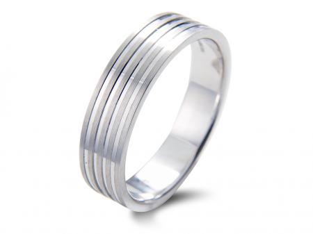 Multi Groove Wedding Band (AM1067)