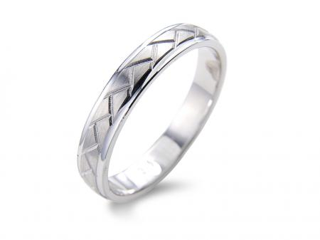Zig Zag Design Wedding Band (AM1710)