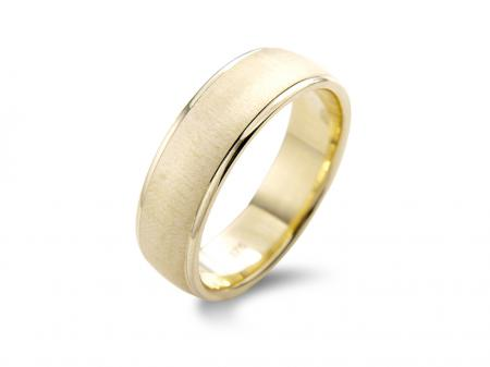 Wide Gold Wedding Band (AM020-6)