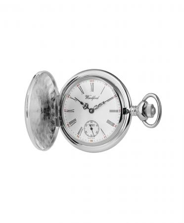 Chrome Pocket Watch with Second Hand (1058)