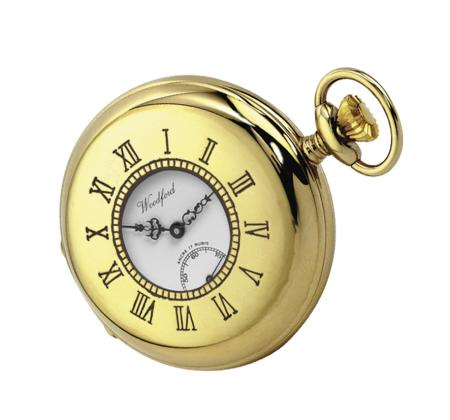 Gold Mechanical Pocket Watch (1010)