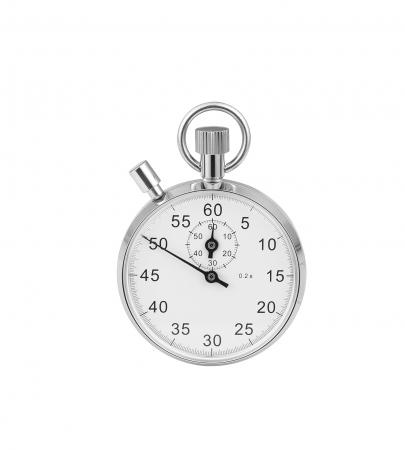 Chrome Mechanical Stopwatch (1041)