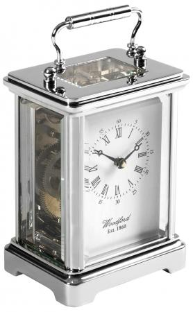 Chrome 8 Day Carriage Clock 914150
