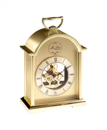 Gold Skeleton Movement Carriage Clock (1448)