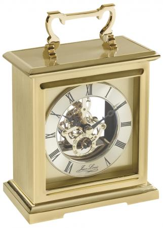 Gold Skeleton Quartz Carriage Clock (1427)