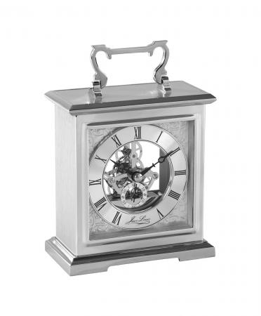 Chrome Skeleton Carriage Clock (1446)