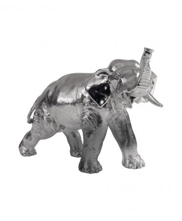 Sterling Silver Bull Elephant Ornament (83)
