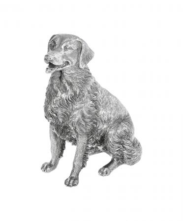Sterling Silver Retriever (9592)