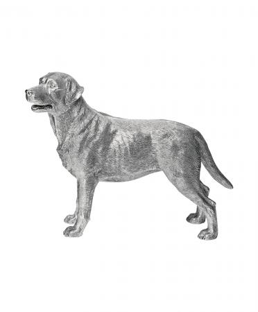 Sterling Silver Labrador Ornament (90)