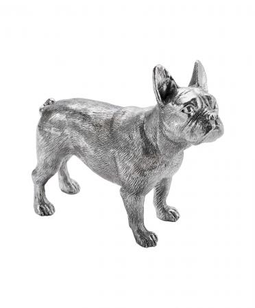 Sterling Silver French Bulldog Ornament