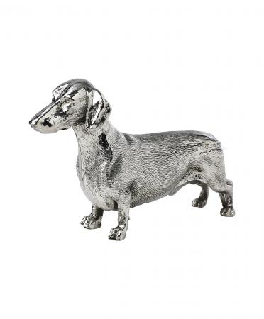 Sterling Silver Dachshund Ornament (9585)
