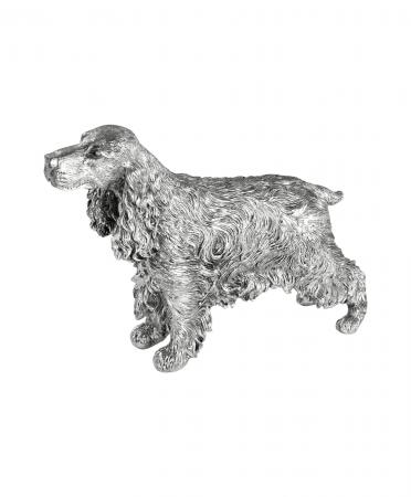 Sterling Silver Cocker Spaniel Ornament (9586)