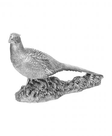 Sterling Silver Cock Pheasant Ornament (84)