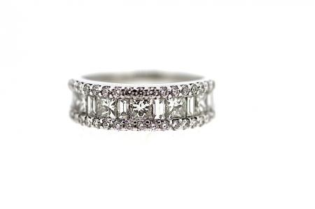 2ct Multi Cut Diamond Band