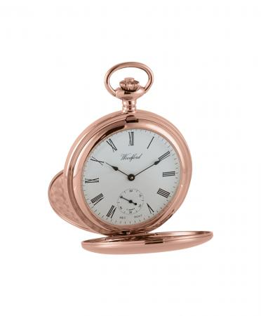Economic Mechanical Rose Gold Pocket Watch (1093)