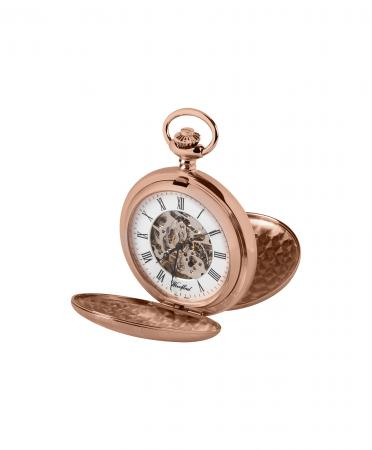 Economic Mechanical Rose Gold Pocket Watch (1090)