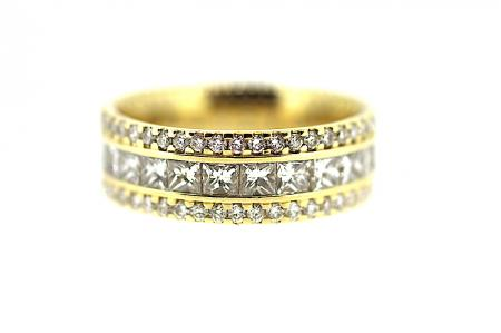 18ct Full Eternity Band