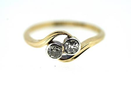 18ct Edwardian Diamond Ring