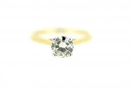 18ct Gold Diamond Solitaire 0.75ct (2005)