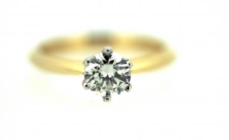 18ct Gold 0.75ct Diamond Solitaire (2006)
