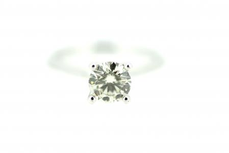 Platinum 1.03ct Diamond Solitaire (1738)