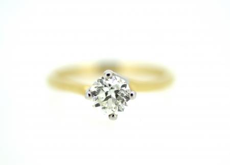 18ct Gold 0.80ct Diamond Solitaire (1337)