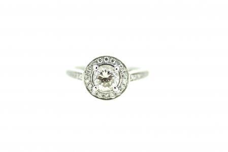 18ct White Gold 1.30ct Solitaire (c0083)