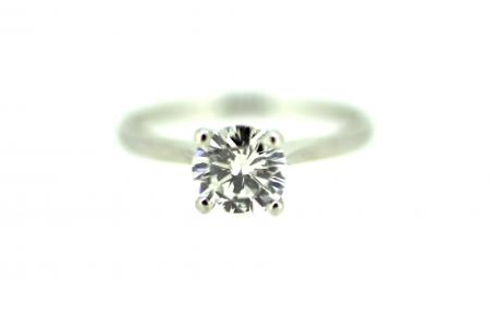 Platinum 1.12ct Diamond Solitaire (code)