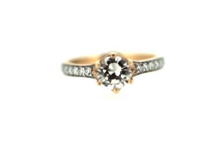 18ct Rose Gold 1.20ct Diamond Solitaire (1607)