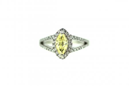 18ct Fancy Yellow Diamond (J0042)