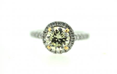 18ct Yellow Diamond Brilliant Cut Solitaire (J0008)
