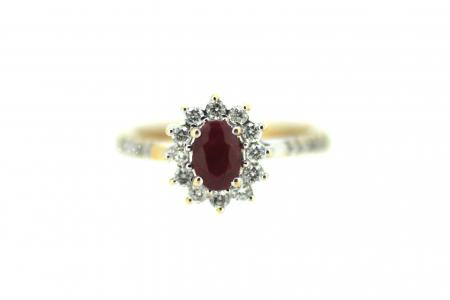 18ct Ruby & Diamond (1986)