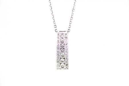 Diamond Bar Pendant (2146)