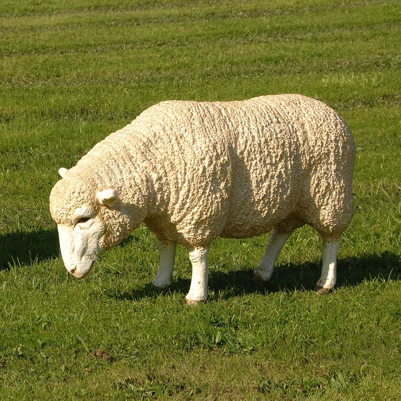 Wholesale bathroom furniture - Fabulous Life Size Grazing Sheep Sculpture Mulberry Moon