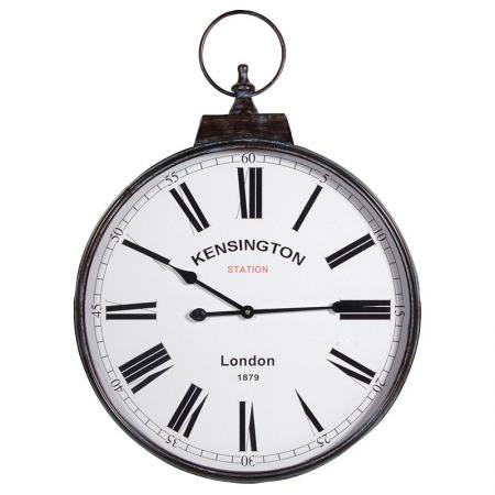 Large Fob Watch Kensington London Wall Clock
