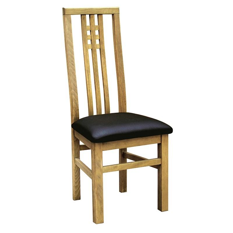 solid oak oiled finish dining room chair mulberry moon