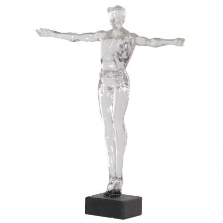 Large Clear Acrylic Male / Gents Sculpture