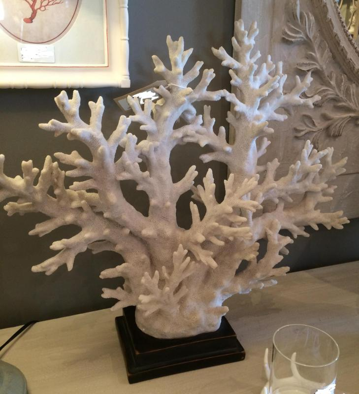 White Coral Tree Sculpture Decor Mulberry Moon