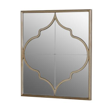 Contemporary Venetian Gold Painted Frame Mirror