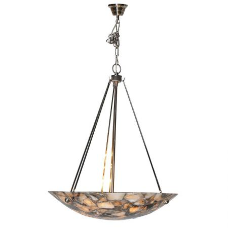 Antique Style Marble Effect Ceiling Light