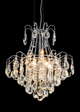 Large crystal and glass chain chandelier light mulberry moon chrome glass 6 bulb chandelier mozeypictures Gallery