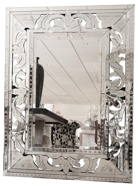 Silver Wall Mirrors huge framed silver venetian wall mirror | mulberry moon