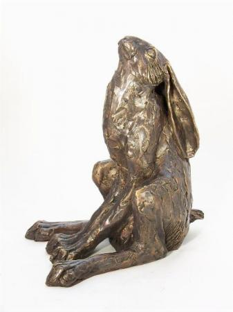 Frith Sculptures by Paul Jenkins Moongazing Hare Sculpture